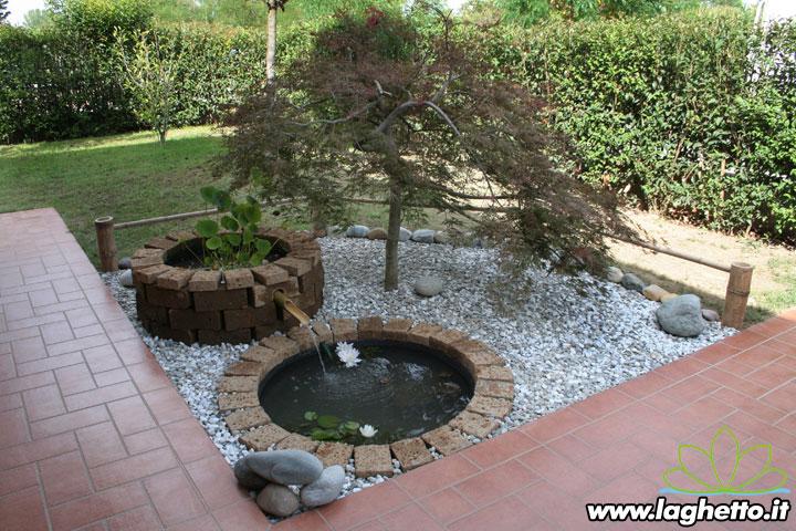 idee giardino sassi bianchi geometria ? ulicam.net - Piccolo Giardino Con Ghiaia