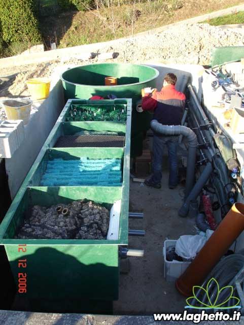 Sito per gli appassionati di laghetti pesci for Costruzione laghetto koi